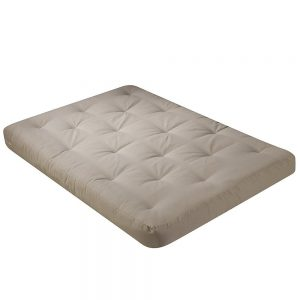 Serta Chestnut Double Sided Foam Full Futon Mattress