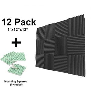 IZO All Supply Double Sided Adhesive Mounting Tiles