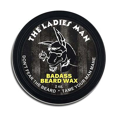 6. Badass Beard Care 2 oz Beard Wax for Men
