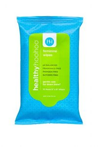 healthy hoohoo All Natural Gentle Feminine Wipe
