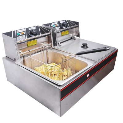 7. Yescom Commercial Deep Fryer