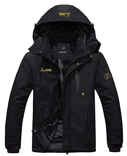Wantdo Men's Waterproof Jacket
