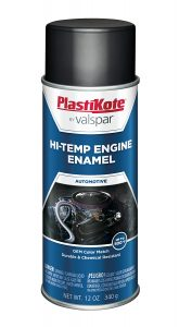 Plastikote 215 Black Engine Enamel Low Gloss