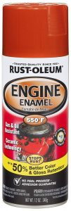 Rust Oleum 272019 Chevy Ceramic Red Orange Engine Enamel