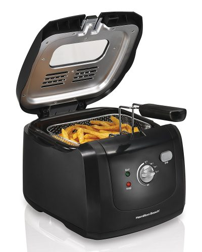 9. Hamilton Beach 35021 Deep Fryer with Cool Touch