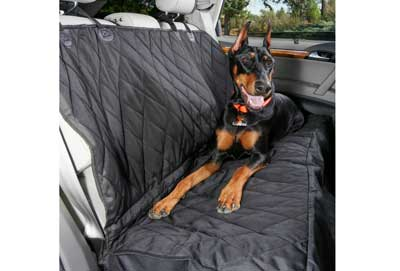5. 4Knines Luxury Dog Seat Cover