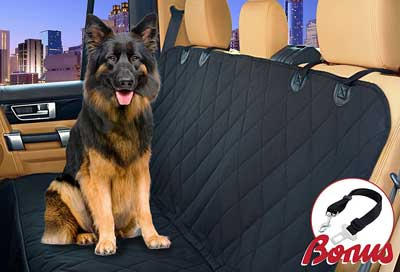 4. Thassio Car Seat Cover for Dogs
