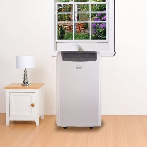 BLACK DECKER BPACT10WT 10 000 BTU Portable Air Conditioner with Remote