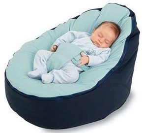 BayB Brand Baby Bean Bag - Filled