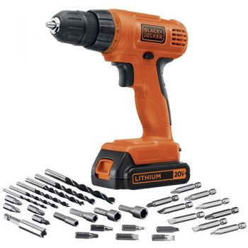 Black & Decker LD120VA 20-Volt MAX Lithium-Ion Drill
