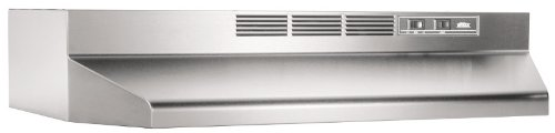 Broan 413004 ADA Capable Non-Ducted-Kitchen Exhaust Fans