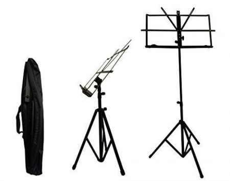 Crafty Gizmos Black Adjustable Folding Music Stand