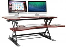 Halter ED-258 Preassembled Height Adjustable Desk Sit