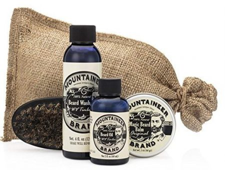 Mountaineer Brand Beard Care Kit - Beard Grooming Kits