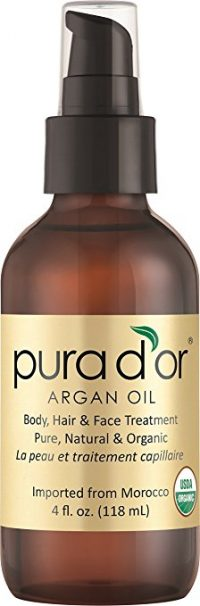 PURA D'OR Moroccan Argan Oil 100% Pure