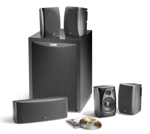 Polk Audio RM6750 5 1 Channel Home Theater Speaker System