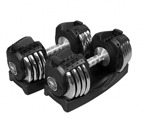 XMark Adjustable Dumbbell (Singles or Pair)