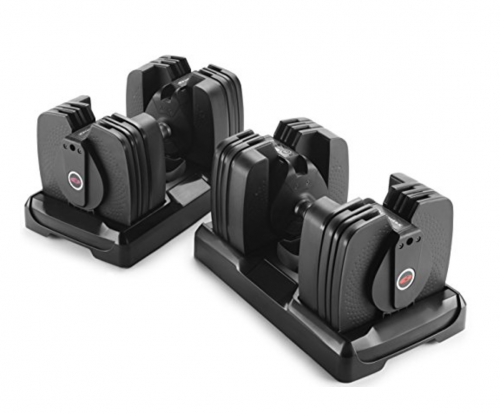 Bowflex SelectTech 560 Dumbbell (Pair), 5lb to 60lb