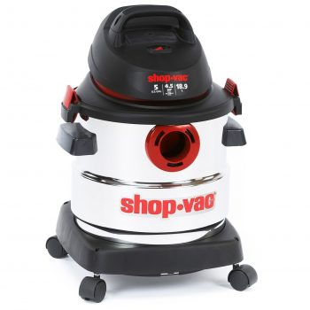 Shop Vac 5986000 5 Gallon 4 5 Peak HP Stainless Steel Wet Dry Vacuum
