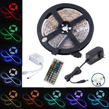 Topmax 5050 16.4ft/5m Led Strip Lights-LED Light Strips
