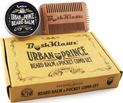 Urban Prince Beard Balm Conditioner and 4Klawz Pocket Beard