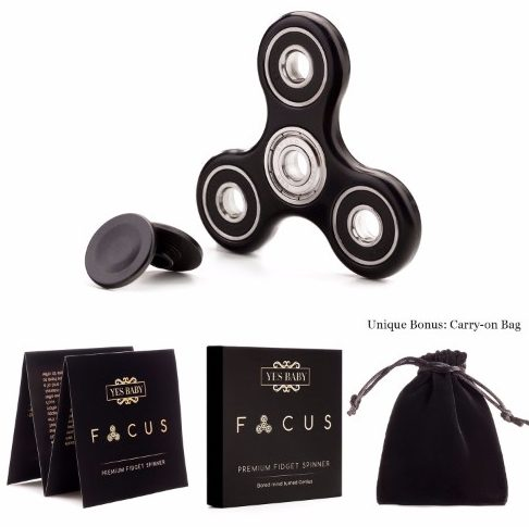 Yes Baby Fidget Spinner Toy