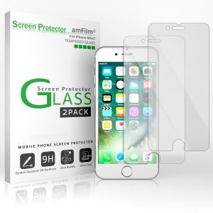 amFilm iPhone 7 Tempered Glass Screen Protector