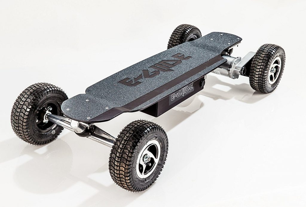 GT Powerboard Off-Road Skateboards- Black Anodized Aluminum Off Road Electric Skateboard