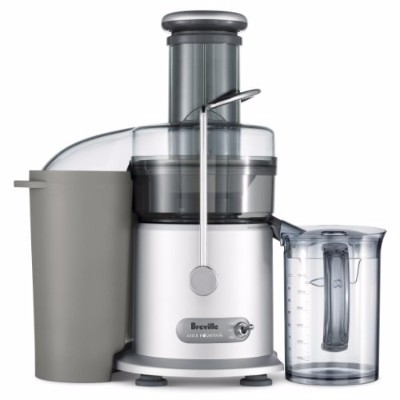#1 Breville JE98XL Juice Fountain Plus 850-Watt Juice Extractor