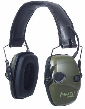 #1 Howard Leight by Honeywell Impact Sports Sound Amplification Electronic Earmuff
