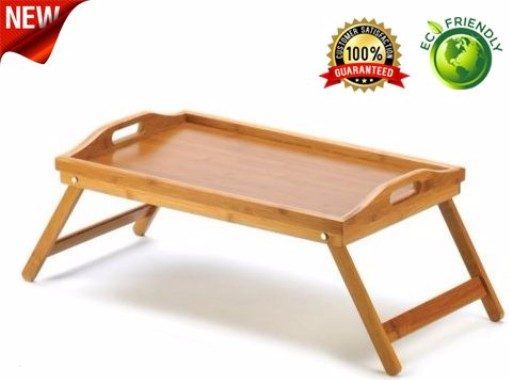 10 - Natures-Wood Multi-Purpose Lightweight Bed Tray