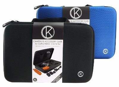 2 - CamKix Carrying Case with Fully Customizable Interior for GoPro Hero 5