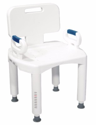 2 - Drive Medical Premium Series Shower Chair