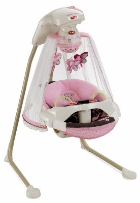#2 Fisher-Price Papasan Cradle Baby Swing