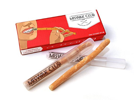 Miswak Club Natural Teeth Whitening Kit/ Natural Toothbrush for Whiter Teeth
