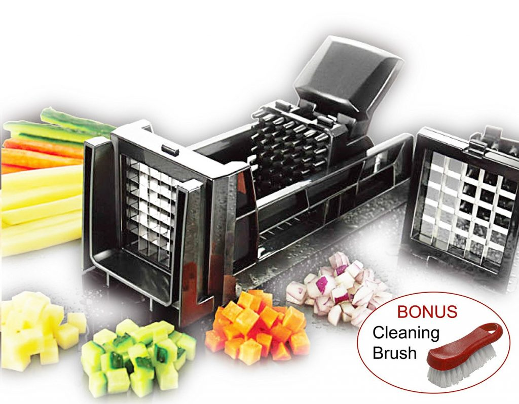 Tiger Chef French Fry Cutter and Easy Vegetable Dicer Chopper