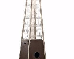 #3 AZ Patio Heaters, Quartz Glass Tube in Hammered Bronze