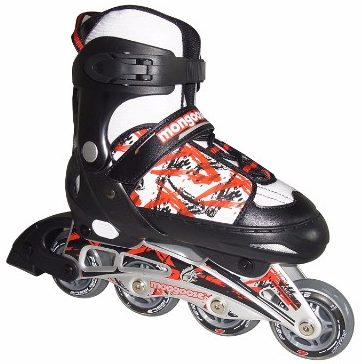 3 - Mongoose Boys' Adjustable Inline Skates