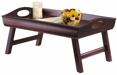 3 - Winsome Wood Sedona Bed Tray Curved Side