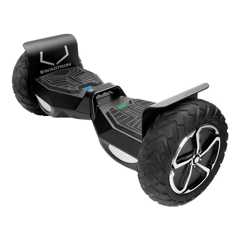 SWAGTRON T6 Off-Road Hoverboard – First in the World to Handle Over 250 LBS, Up to 12 MPH, UL2272 Certified, Off-Road Hoverboards