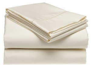 SheetsnThings 300 Thread Count Ivory Sheet