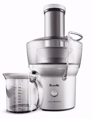 #4 Breville BJE200XL Compact Juice Fountain 700-Watt Juice Extractor