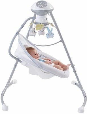 #4 Fisher-Price Sweet Snugapuppy Dreams Cradle 'n Swing