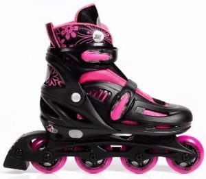 4 - High Bounce Rollerblades Adjustable Inline Skate