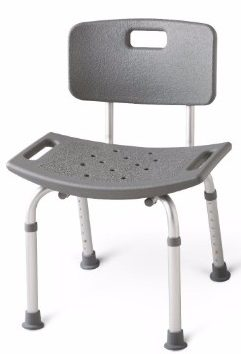 4 - Medline Guardian Bath Bench with Back