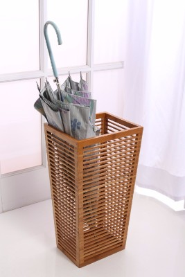 #4 Rustic Open Slats Umbrella and Walking Canes Storage