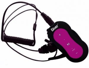 5 - Diver (Tm) Waterproof MP3 Player
