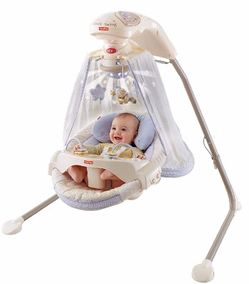 #5 Fisher-Price Papasan Cradle Swing, Starlight