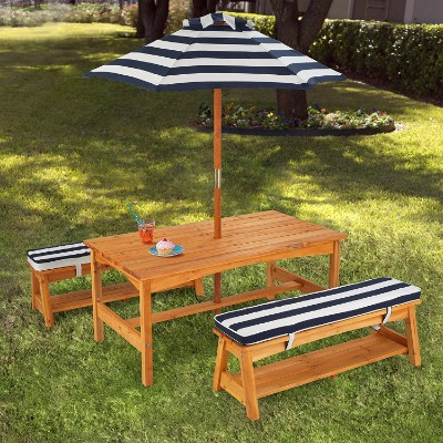 #5 KidKraft Outdoor Table and Chair Set