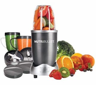 #5 Magic Bullet NutriBullet 12-Piece High-Speed BlenderMixer System